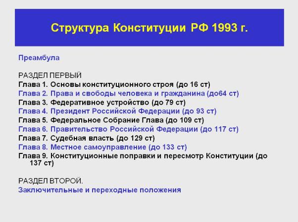 Основные принципы конституции рф 1993 реферат 5879