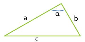 Площадь треугольника по двум сторонам и углу между ними